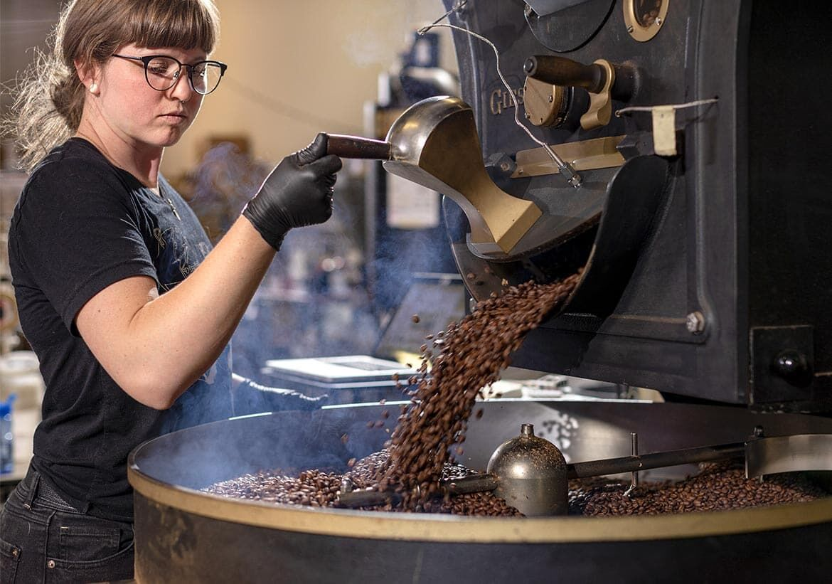 Huckleberry Roasters works with Gusto