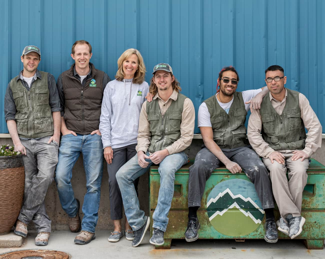 Rocky Mountain Clay team